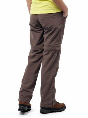 CWJ1110 Craghoppers NosiLife Convertible Trousers - Cafe Au Lait - Back