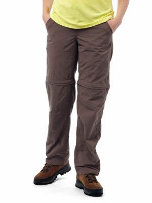 CWJ1110 Craghoppers NosiLife Convertible Trousers - Cafe Au Lait - Front