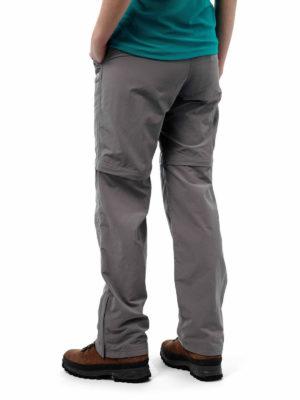 CWJ1110 Craghoppers NosiLife Convertible Trousers - Platinum- Back