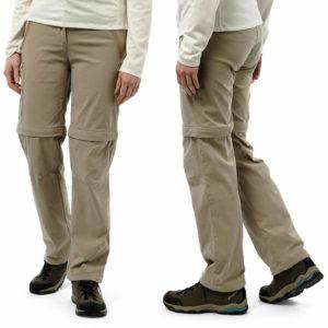 CWJ1119 Craghoppers NosiLife Pro Stretch Trousers - Mushroom