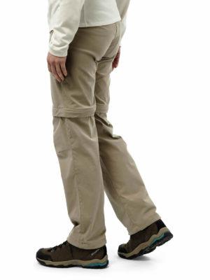 CWJ1119 Craghoppers NosiLife Pro Stretch Trousers - Mushroom - Back