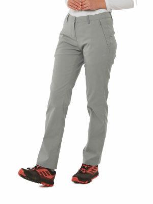CWJ1202 Craghoppers Kiwi Pro Trousers - Cloud Grey - Front