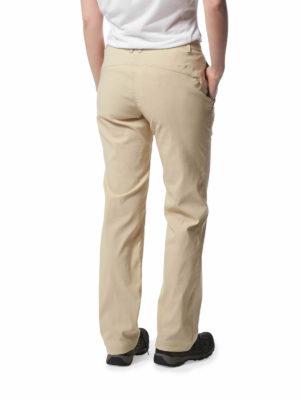 CWJ1202 Craghoppers Kiwi Pro Trousers - Desert Sand - Back