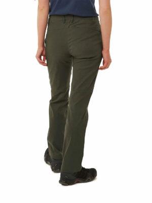 CWJ1202 Craghoppers Kiwi Pro Trousers - Mid Khaki - Back