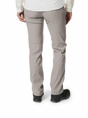 CWJ1202 Craghoppers Kiwi Pro Trousers - Platinum - Back