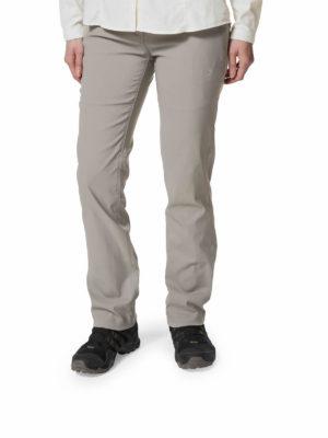 CWJ1202 Craghoppers Kiwi Pro Trousers - Platinum - Front
