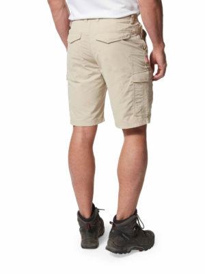 CMJ502 Craghoppers NosiLife Cargo Shorts - Desert Sand - Back
