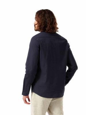 CMS648 Craghopper NosiBotanical Harford Shirt - Blue Navy - Back