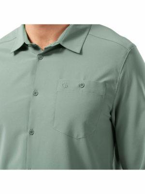 CMS659 Craghoppers NosiLife Hedley Shirt - Pocket