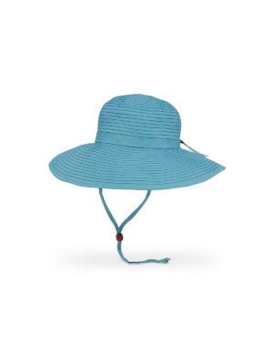 6009 Sunday Afternoons Beach Hat - Blue Larkspur