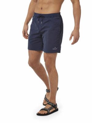 CMM007 Craghoppers NosiLife Medici Board Shorts - Blue Navy - Front
