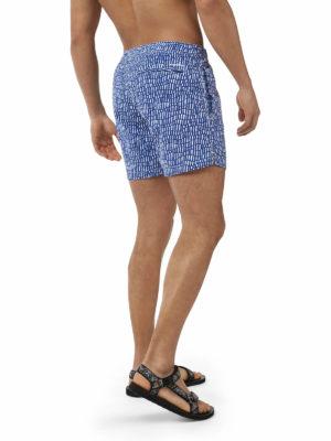 CMM007 Craghoppers NosiLife Medici Board Shorts - Lapis Blue - Back