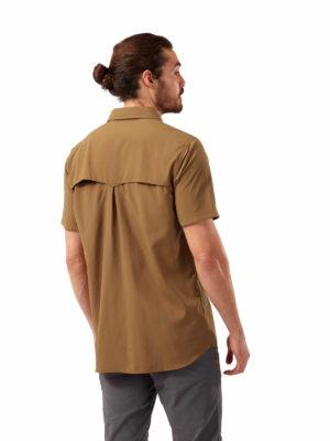 CMS607 Craghoppers NosiLife Adventure Shirt - Rubber - Back