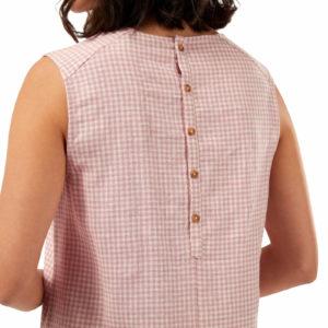 CWD026 Craghoppers NosiBotanical Marin Dress - Button Back