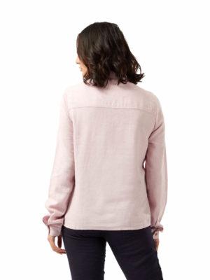 CWS510 Craghoppers NosiBotanical Carmina Shirt - Brushed Lilac - Back