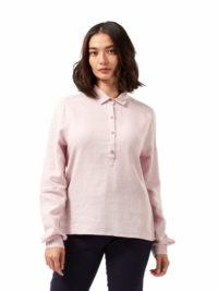 CWS510 Craghoppers NosiBotanical Carmina Shirt - Brushed Lilac - Front