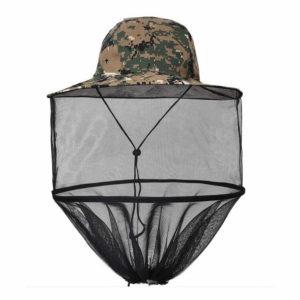 Purple Turtle Pop Up Hat with Mosquito Net - Pixel Green