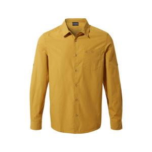 CMS661 Craghoppers NosiDefence Kiwi Ridge Shirt - Butterscotch