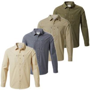 CMS702 Craghoppers NosiDefence Kiwi Boulder Shirt
