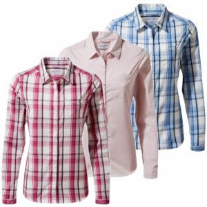 CWS511 Craghoppers NosiDefence Kiwi Shirt