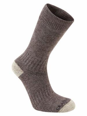 SCUH008 Craghoppers Trek 2 Walking Socks - Bark