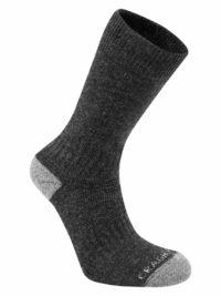 SCUH008 Craghoppers Trek 2 Walking Socks - Charcoal