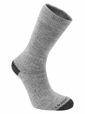 SCUH008 Craghoppers Trek 2 Walking Socks - Grey Marl