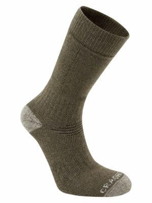 SCUH008 Craghoppers Trek 2 Walking Socks - Woodland Green