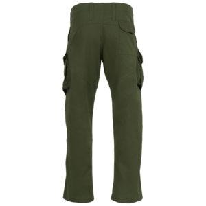 TR146 Highlander Delta Trousers - Olive - Back
