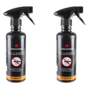LifeSystems EX4 Permethrin Spray - Twin Pack